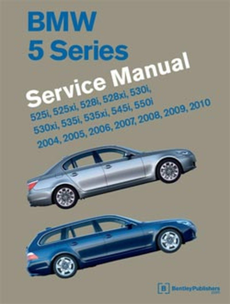 t 3003 b510 bentley service repair manual e60 bmw 525i