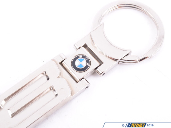 T#5271 - 80230432391 - Genuine BMW Key Ring - Z3  - Nickel-finish pendant for your Z3. - Genuine BMW - BMW