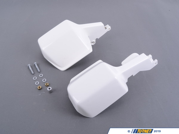 T#157268 - 71602303496 - Genuine BMW Retrofit Kit, Hand Guard, Wh - 71602303496 - Genuine BMW -