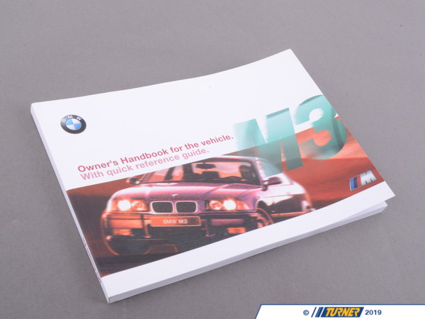 T#26798 - 01419790631 - Genuine BMW Owner's Handbook M3 E36/4/2/ - 01419790631 - Genuine BMW -