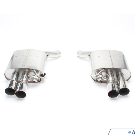 T#389266 - F1350-D660 - F06/F13 650i Dinan Free Flow Axle-Back Exhaust - Dinan - BMW