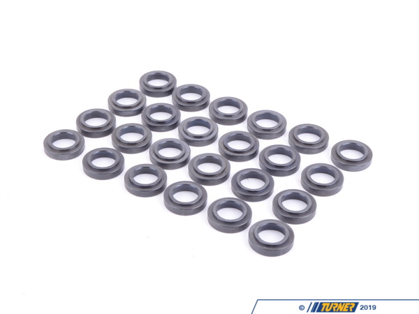 T#163 - SL1021-24 - E36 325, 328 M3 Ferrea Spring Seat Set - E36 325, 328 M3 Ferrea Spring Seat Set includes 24 seats. MUST be uses with the Ferrea valve springs. Recommended to be used with the Ferrea Competition Plus Big Valves and Ferrea Titanium Retainers. See links below.The goal at Ferrea is to create thefinest valves and bearings money can buy. With a staggering array of applications for virtually every production engine in existence both gas and diesel Ferrea has the parts you need to finish your next engine project with confidence.This item fits the following BMWs:1992-1998  E36 BMW 323is 323ic 325i 325is 325ic 328i 328is 328ic M31991-1995  E34 BMW 525i - Ferrea - BMW