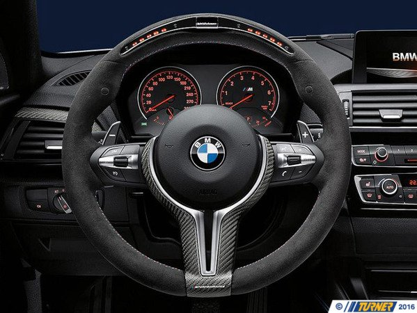 T#389055 - 32302413015 - F87 M2 BMW M Performance Steering Wheel With Race Display - Genuine BMW - BMW