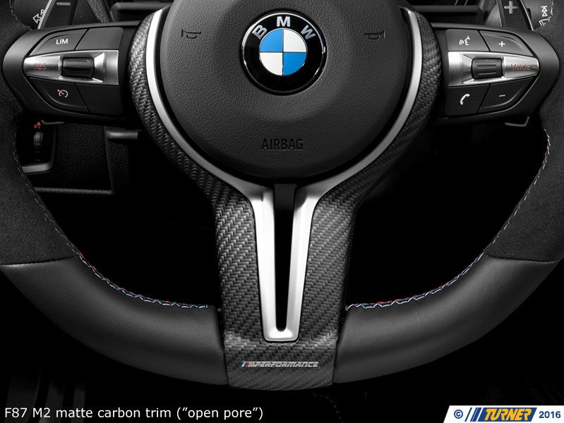 32302413014 F87 M2 BMW M Performance Steering Wheel