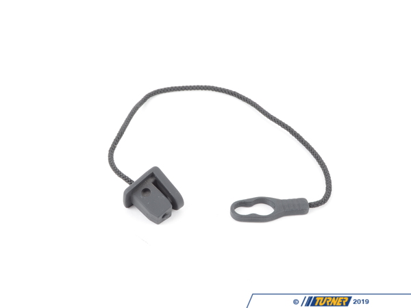 T#109669 - 51468204622 - Genuine BMW Plug With Hanging Strap Anthrazit - 51468204622 - E36 - Genuine BMW -