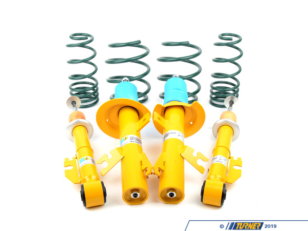 T#14271 - MINI-R53-SPSUSP - R53 MINI Cooper S Bilstein/H&R Sport Suspension Package - Packaged by Turner - MINI