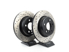 T#211017 - 34216775287CDS - Cross-Drilled & Slotted Brake Rotors - Rear - F10 528i, 528i xDrive, 535i, 535i xDrive (Pair) - StopTech - BMW