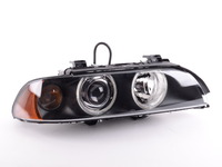 OEM Hella Headlight - Xenon - Clear Parking Light - Right - E39 525i, 530i 540i M5 2001-2003