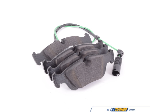 T#61686 - 34112157572 - Genuine BMW Set Of Brake Pads With Wear - 34112157572 - Genuine BMW -