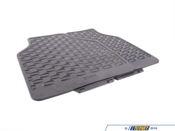 T#110069 - 51470429237 - Genuine BMW Set Rubber Mats Rear E66 Hinten Anth - 51470429237 - Genuine BMW -