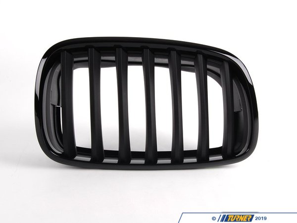 T#5105 - 51712150246 - BMW M Performance Black Grille - Right - E70 X5, E71 X6 - BMW Performance Black Ki. - Genuine BMW M Performance - BMW