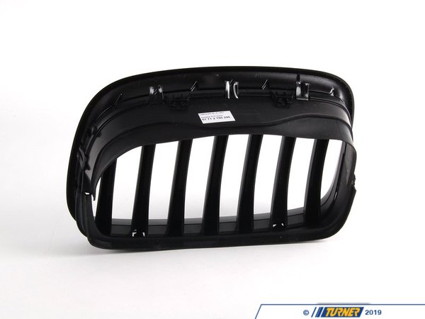 T#5105 - 51712150246 - BMW Performance Black Grilll Right .e70 E71 - Genuine BMW -