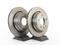 Rear Brake Rotors - E32 740i/750i (Pair)