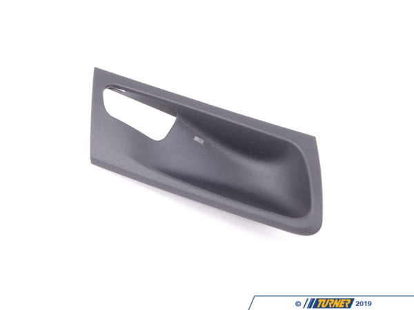 T#99629 - 51426973740 - Genuine BMW Cover, Door Opener, Rear Right Schwarz - 51426973740 - E70 - Genuine BMW -