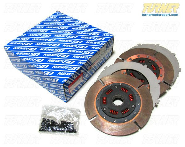 T#2209 - BM533-BF6EA - OS Giken E9X M3 Clutch Overhaul Kit (for Grand Am Legal Racing Flywheel/Clutch) - This kit includes parts needed to overhaul the OS Giken E90/E92 M3 Grand Am legal clutch kit, including clutch discs (2), center plates, and cover bolts (all). As used in the Grand Am KONI Challenge GS class V8 M3s, including both Turner Motorsport E92 M3 race cars. - OS Giken - BMW