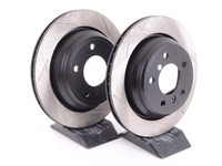 Gas-Slotted Brake Rotors (Pair) - Rear - E39 525i 528i 530i 540i