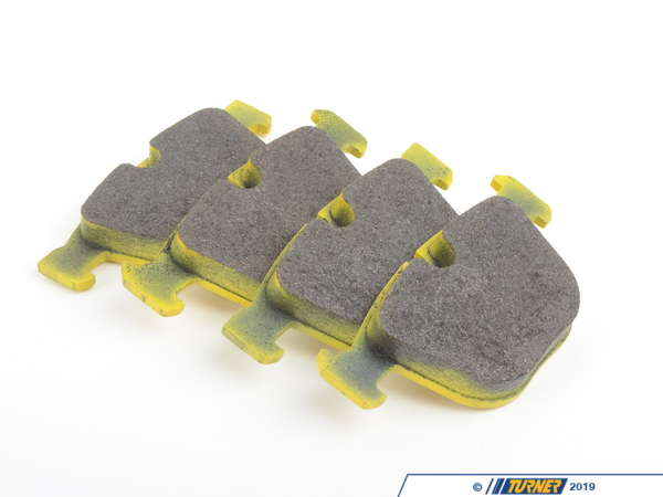 T#2712 - TMS2712 - Pagid RSL19 Endurance Racing Brake Pads - Rear - E9X M3 - E60 M5 - E63 M6 - Pagid - BMW