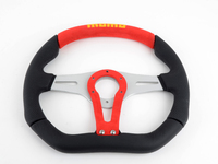MOMO Trek Steering Wheel - Red 350mm