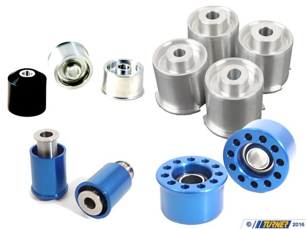 T#338694 - TMS11752 - 3-series Rear Suspension Mount Package - Solid Race Bushings - E36/E36 M3 - Turner Motorsport - BMW