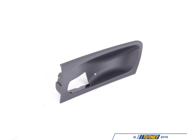 T#96166 - 51416973735 - Genuine BMW Trim Cover, Door Handle, Fro - 51416973735 - Schwarz - Genuine BMW -