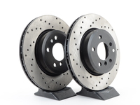 Cross-Drilled Brake Rotors - Front - E83 X3 2004-2010 (pair)