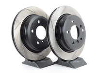 Gas-Slotted Brake Rotors (Pair) - Rear - E9X 325Xi/328Xi, E91 328i, E93 328i
