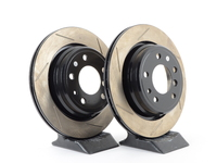 Gas-Slotted Brake Rotors (Pair) - Rear - E34 540i M5