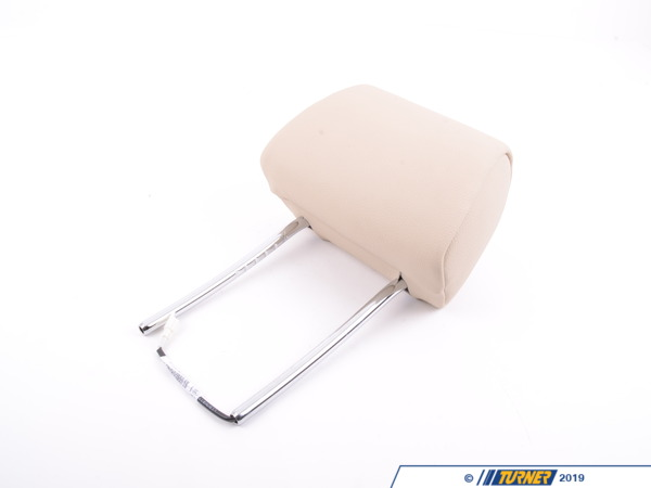 T#124648 - 52107248637 - Genuine BMW Headrest Leather Creambeige - 52107248637 - E92 - Genuine BMW -