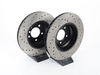T#1411 - 34116764645CD - Cross-Drilled Brake Rotors - Front - E90 330i & 330xi  (pair) - StopTech - BMW