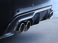 F86 X6M 3D Design Carbon Fiber Rear Diffuser - Quad Exhaust