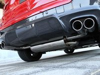F26 X4 M Sport 3D Design Carbon Fiber Rear Diffuser - Quad Exhaust