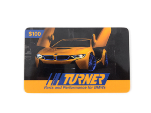 Turner Motorsport Gift Card - $100