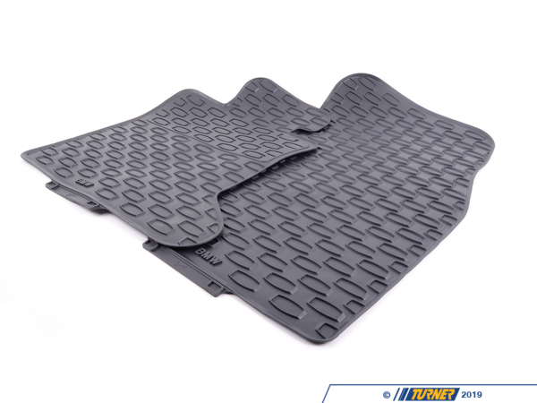 T#220903 - 51472409278 - Genuine BMW Floor Mats, All-Weather, Fro - 51472409278 - Genuine BMW -