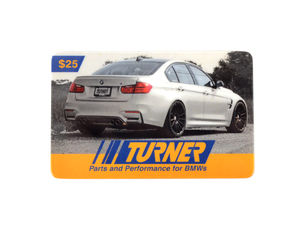 Turner Motorsport Gift Card - $25