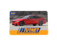T#341840 - GC50TMS - Turner Motorsport Gift Card - $50 - Turner Gift Cards - BMW MINI