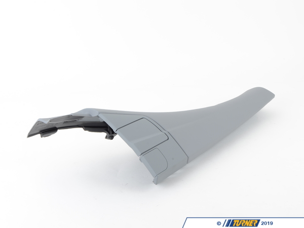 T#104898 - 51438240788 - Genuine BMW Lateral Trim Panel Top Rear Right Grau - 51438240788 - E46 - Genuine BMW -