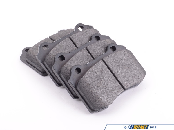 T#16484 - TMS16484 - Brembo Calipers Lotus, A, C, F - Street Brake Pad Set - StopTech Posi-Quiet Semi-Metallic - Hawk - BMW