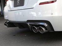 F10 M5 3D Design Carbon Fiber Rear Diffuser - Quad Exhaust