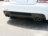 E82 128I/135i M Sport 3D Design Carbon Fiber Rear Diffuser - Quad Exhaust