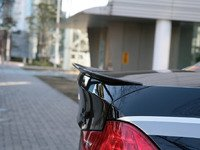 E90 Sedan 3D Design Carbon Fiber Trunk Spoiler