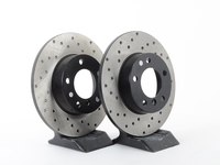 Cross-Drilled Brake Rotors - Front - E36 318ti thru 4/98, Z3 1.9