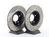 T#12135 - 34116757750CD - Cross-Drilled Brake Rotors - Front - E36 318ti thru 4/98, Z3 1.9 - StopTech - BMW
