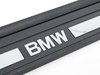 T#111930 - 51477180739 - Genuine BMW Cover For Door Sill, Chrome, Left - 51477180739 - E82 - Genuine BMW -