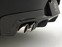 E89 Z4 M Sport 3D Design Carbon Fiber Rear Diffuser - Quad Exhaust