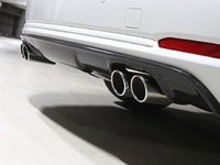 F34 328/335 M Sport 3D Design Carbon Fiber Rear Diffuser - Quad Exhaust