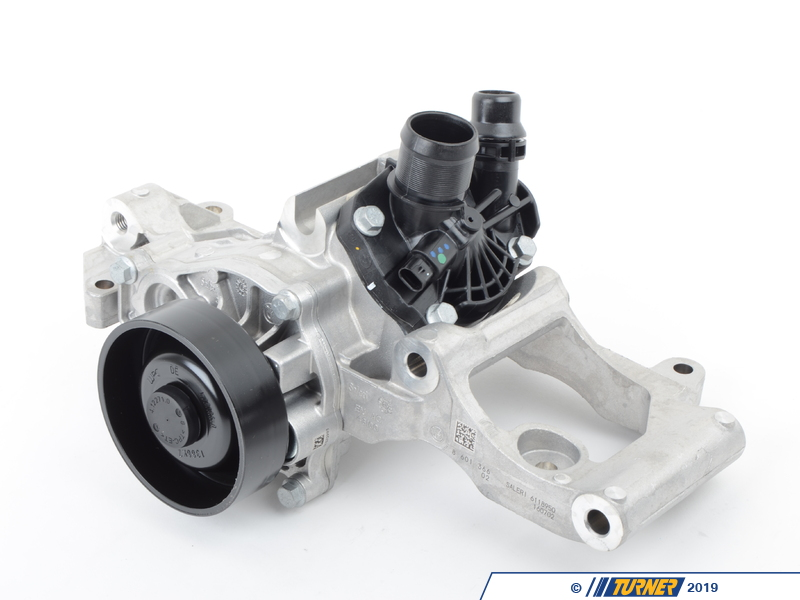 11518601366 coolant pump with thermostat and support turner motorsport for Th 450 termostato