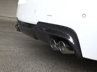 F10 528/535/550 M Sport 3D Design Carbon Fiber Rear Diffuser - Quad Exhaust