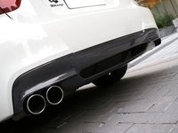 E90 M Sport 3D Design Carbon Fiber Rear Diffuser - Single Exhaust