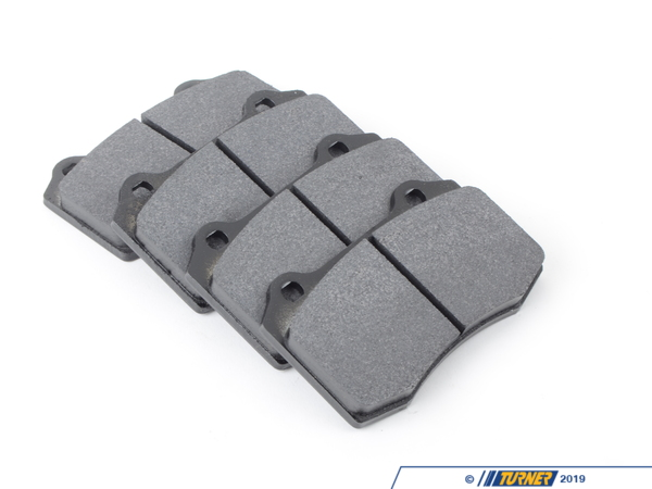 T#2509 - TMS2509 - Brembo Calipers Lotus, A, C, F - Race Brake Pad Set - Hawk HT10 - Hawk HT10 race pads have intermediate torque and temperature compound and smooth initial bite. Very consistent pedal feel. Excellent modulation and release characteristics. These pads are intended for track-use only due to the very high temperature ranges that they work in. The stopping power that these pads give when hot exceeds nearly everything else on the market. This pad set fits the following Brembo 4-piston calipers:Lotus / Type A / Type C / Type FLotus calipers are found in many Brembo GT Big Brake Kits, including these BMW models:1984-1991  E30 BMW 318i 318is 318ic 325e 325es 325i 325ic 325is 325ix M31992-1998  E36 BMW 318i 318is 318ti 318ic 323is 323ic 325i 325is 325ic 328i 328is 328ic M31999-2005  E46 BMW 323i 323ci 325i 325ci 325xi 328i 328ci 330i 330ci 330xi M32006-2011  E90 BMW 325i 325xi 328i 328xi 328i xDrive 330i 330xi 335d 335i 335xi 335i xDrive - Sedan2006-2012  E91 BMW 325xi 328i 328xi 328i xDrive - Wagon2007-2013  E92 BMW 328i 328xi 328i xDrive 335i 335is 335xi 335i xDrive - Coupe2007-2013  E93 BMW 328i 335i - Convertible1982-1988  E28 BMW 524td 528e 533i 535i 535is M51989-1995  E34 BMW 525i 530i 535i 540i M51997-2003  E39 BMW 525i 528i 530i 540i M51982-1989  E24 BMW 633csi 635csi M61988-1994  E32 BMW 735i 735il 740i 740il 750il1995-2001  E38 BMW 740i 740il 750il2004-2010  E83 BMW X3 2.5i X3 3.0i X3 3.0si1997-2002  Z3 BMW Z3 1.9 Z3 2.3 Z3 2.5i Z3 2.8 Z3 3.0i M Roadster M Coupe2003-2008  E85 BMW Z4 2.5i Z4 3.0i Z4 3.0si Z4 M Roadster M Coupe2009+  Z4 BMW Z4 sDrive30i Z4 sDrive35i Z4 sDrive35is2002-2006  R50 MINI MINI Cooper2005-2008  R52 MINI MINI Cooper Convertible, MINI Cooper S Convertible. 2002-2006  R53 MINI MINI Cooper S2007+  R56 MINI MINI Cooper, MINI Cooper S2007+  R55 MINI MINI Cooper Clubman, MINI Cooper S Clubman2007+  R57 MINI MINI Cooper Convertible, MINI Cooper S Convertible, 2011+  R60 MINI MINI Cooper Countryman, MINI Cooper Countryman s - Hawk - BMW MINI