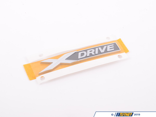 T#81309 - 51147318575 - Genuine BMW Label - X-Drive - 51147318575 - Genuine BMW -